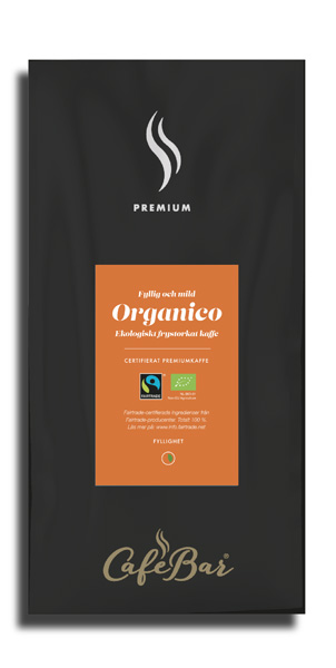 Frystorkat kaffe